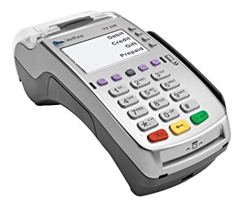 image of a Verifone VX-520 payment terminal